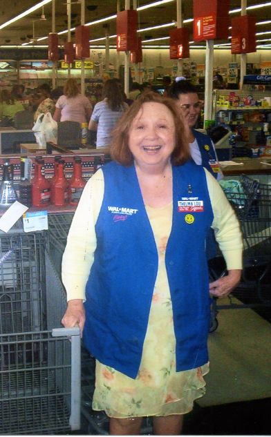 Betty Lynn at Walmart in Marshfield